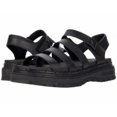 SKECHERS スケッチャーズ レディース 女性用 シューズ 靴 サンダル Jammers Poppin Black/Black【送料無料】