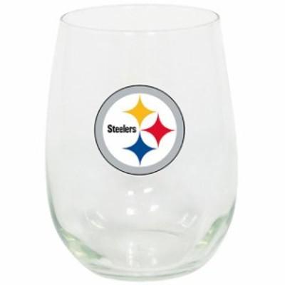 The Memory Company ザ メモリー カンパニー スポーツ用品  Pittsburgh Steelers 15oz. Stemless Wine Glass