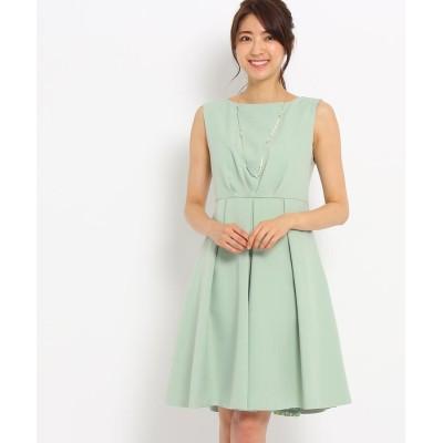 WORLD FORMAL SELECTION(ワールド フォーマル セレクション) EMOTIONALL DRESSES 2WAYシフォンワンピース