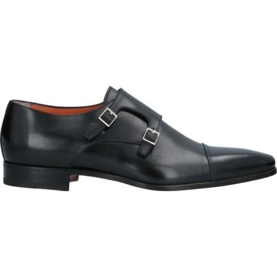 サントーニ SANTONI メンズ ローファー シューズ・靴 loafers Black