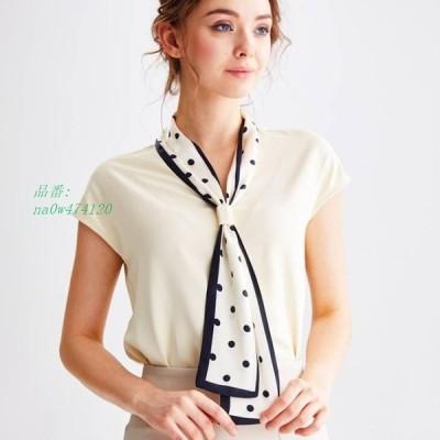 ボウタイブラウス レディース カジュアル シアー レース シアーブラウス ママファッション ブラウス 半袖 かわいい トップス ファッション フェミンファッション