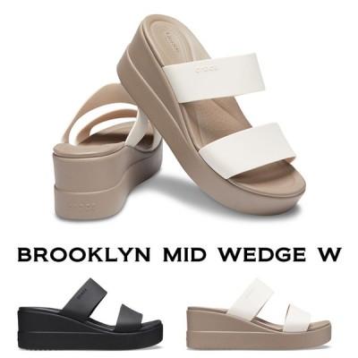 【クロックス crocs レディース b】brooklyn mid wedge /ブルックリン ミッド ウェッジ ウィメン