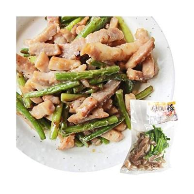 豚塩炒め にんにくの芽入り にんにく塩味 2kg (250g×8個セット) 焼くだけ 簡単 時短 焼肉 豚肉