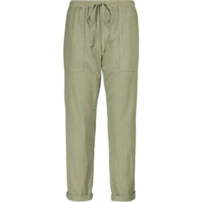 ベルベット グラハムandスペンサー Velvet レディース カーゴパンツ ボトムス・パンツ Misty cotton twill cargo pants Sage
