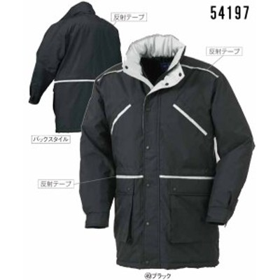 54197 秋冬用コート クロダルマ (kurodaruma)防寒ウェア社名刺繍無料M~5L ナイロン100%