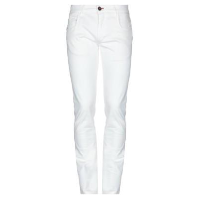 CAMOUFLAGE AR AND J. パンツ ホワイト 31 97% コットン 3% ポリウレタン パンツ