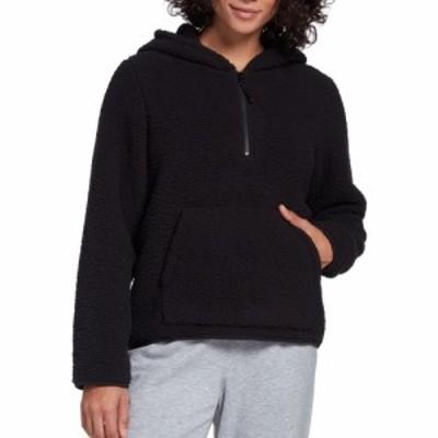 DSG レディース トップス Sherpa 1/4 Zip Pullover (Regular and Plus) Pure Black