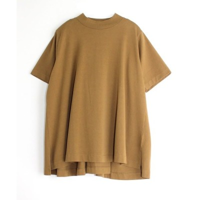 tシャツ Tシャツ M1451 プレーティングバックドレープTシャツ