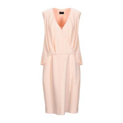 ELISABETTA FRANCHI ミニワンピース&ドレス ピンク 38 レーヨン 100% / ポリエステル / ポリウレタン ミニワンピース&