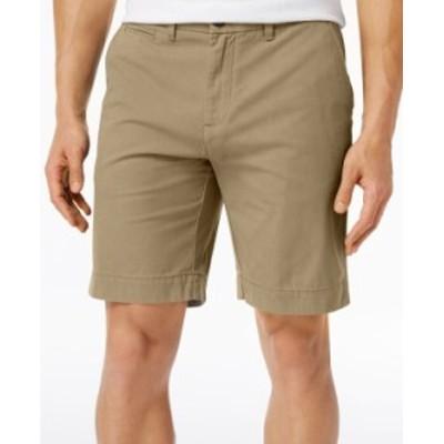トミー ヒルフィガー メンズ ハーフパンツ・ショーツ ボトムス Men's 9 TH Flex Stretch Shorts Mallet