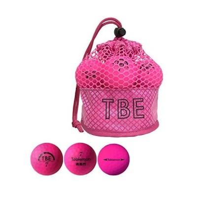 飛衛門 TOBIEMON ボール メッシュバッグ入り 蛍光マットボール 3ダースセット 3ダース(36個入り) ピンク