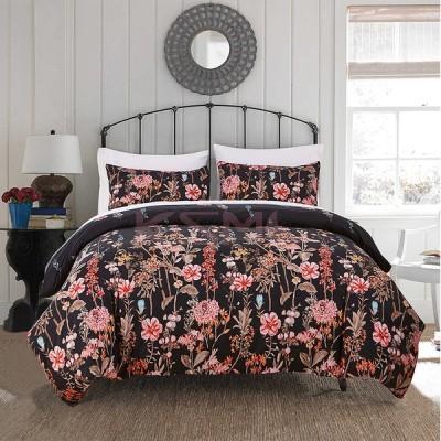 ベッドカバー 布団カバー セット シングル セミダブル 寝具セット 枕カバー おしゃれ 北欧風 洋式和式兼用 洗える 防ダニ 柔らかい 可愛い ダブル