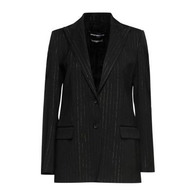 デパートメント 5 DEPARTMENT 5 テーラードジャケット ブラック XS レーヨン 97% / ポリウレタン 2% / ポリエステル 1%