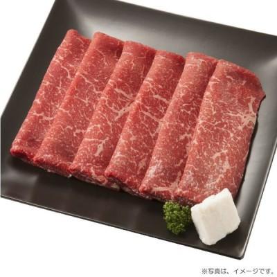 【産地直送】北海道 十勝清水産 ひとまい牛ももすき焼用 360g(21-102313)