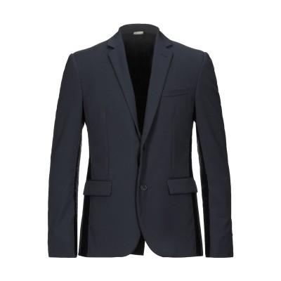 フェンディ FENDI テーラードジャケット ダークブルー 48 バージンウール 100% テーラードジャケット