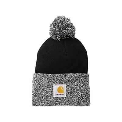 Carhartt Women's Lookout Acrylic Pom Hat, Black, One Size 並行輸入