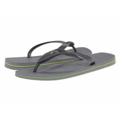 Havaianas ハワイアナス メンズ 男性用 シューズ 靴 サンダル Brazil Flip Flops Steel Grey【送料無料】