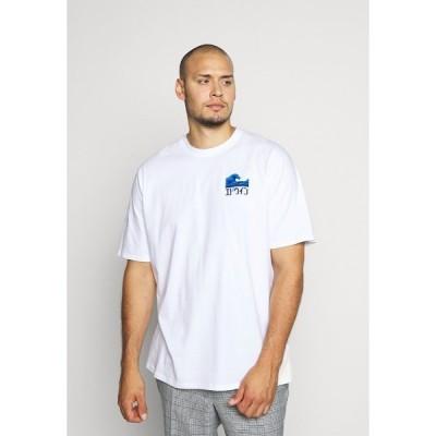 エドウィン Tシャツ メンズ トップス THE WAVE - Print T-shirt - white