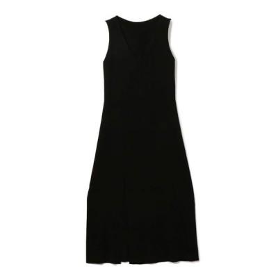 SHIPS for women/シップスウィメン roberto collina:ニットワンピース ブラック ONE SIZE