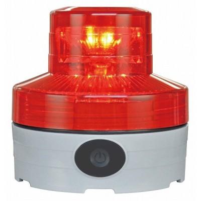 日恵製作所(NIKKEI) VL07B-003NR 赤 ニコUFO neo 電池式小型LED回転灯