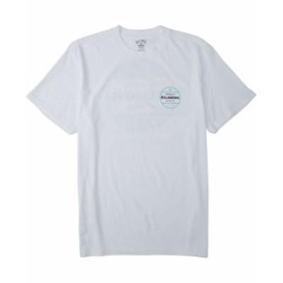 ビラボン メンズ Tシャツ トップス Men's Rotor T-shirt White