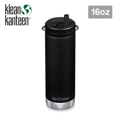 Klean Kanteen クリーンカンティーン TKワイド ツイストキャップ 16oz ボトル 水筒 保冷 保温 473ml ストロー アウトドア