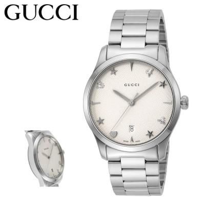 グッチ 腕時計 Gタイムレス YA1264028A レディース GUCCI ステンレススチール サファイアガラス SS