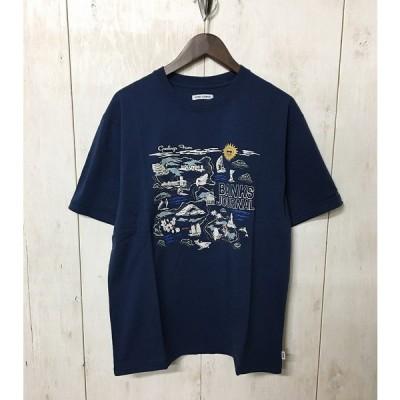 30%OFF【BANKS】(バンクス)GREETING FROM BANKS TEE SHIRT 半袖 Tシャツ ATS0467