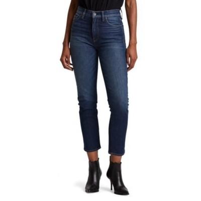ハドソンジーンズ レディース デニムパンツ ボトムス Holly High Rise Cropped Straight Leg Jeans IMPROMPTU