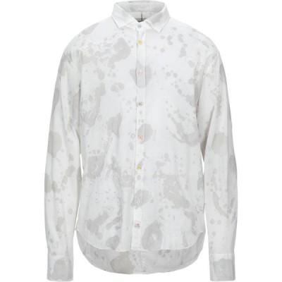 パナマ PANAMA メンズ シャツ トップス patterned shirt Light grey