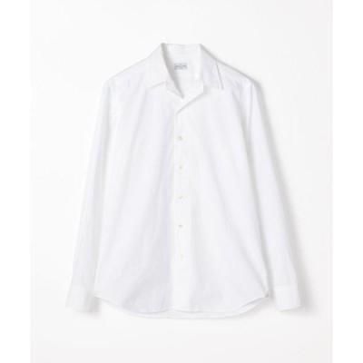シャツ ブラウス BAGUTTA コットン オープンカラーシャツ