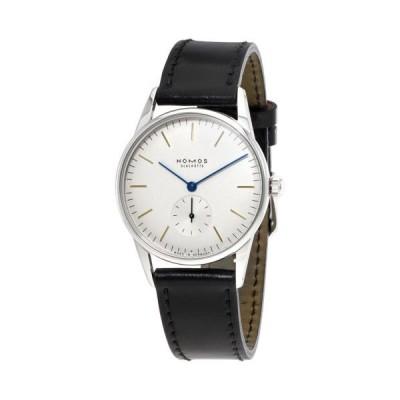 腕時計 ノモス Nomo Orion Galvanized ホワイト ダイヤル ユニセックス 腕時計 301