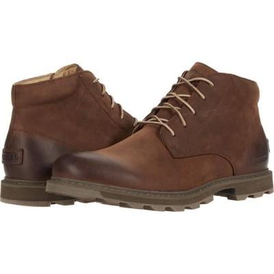 ソレル SOREL メンズ ブーツ チャッカブーツ シューズ・靴 Madson(TM) II Chukka Waterproof Tobacco