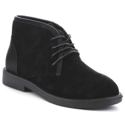 ブーツ シューズ 靴 海外厳選ブランド ベストon Hot Sale ファッション レディース Soft Lace Up Chukka ブーツ MARCY-11 BLACK