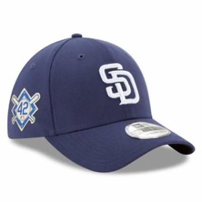 New Era ニュー エラ スポーツ用品  New Era San Diego Padres Blue Jackie Robinson Day 39THIRTY Flex Hat