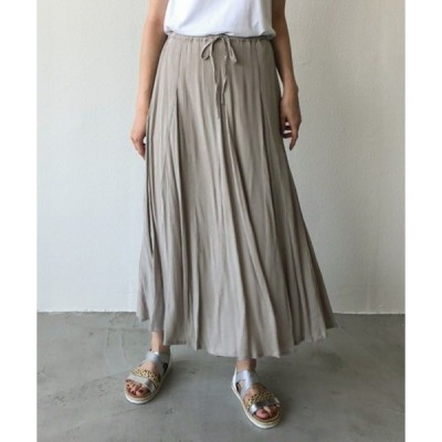 "スカート 【Holiday】""AIC serect""レーヨンクレープfab.LONG SKIRT"