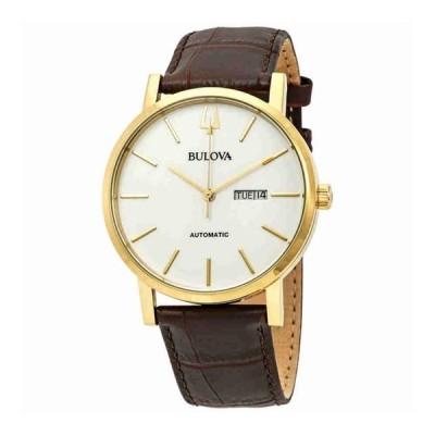 ブローバ Bulova 男性用 腕時計 メンズ ウォッチ ホワイト 97C107