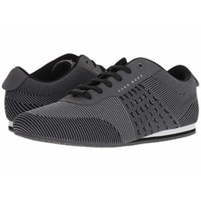 ヒューゴ ボス メンズ スニーカー Ligher Sporty Knit Sneaker by BOSS Green