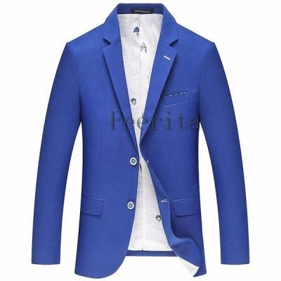 スーツ メンズ ビジネススーツ フォーマルスーツ ぴったり テーラードジャケット 無地 カジュアルスーツ 通勤 春秋 紳士服