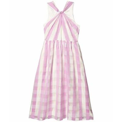 ケイト スペード ワンピース トップス レディース Gingham Organza Dress Fresh Lilac