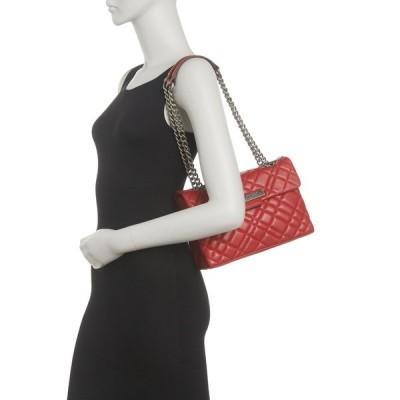 カートジェイガーロンドン レディース ショルダーバッグ バッグ Dual Shoulder Quilted Brixton Bag RED