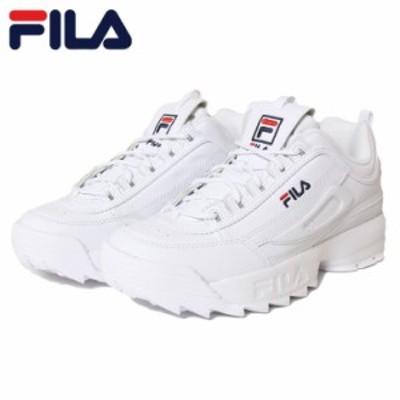 フィラ ディスラプター2 スニーカー FILA DISRUPTOR 2 F0215 WHITE ダッドスニーカー ディスラプター 26.5 27 27.5 28