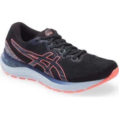 アシックス ASICS レディース ランニング・ウォーキング シューズ・靴 GEL-Cumulus 23 Running Shoe Black/Blazing Coral
