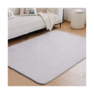 クモリ(Kumori) ラグ カーペット 洗える ラグマット 滑り止め マット 絨毯 オールシーズンタイプ フランネルラグ