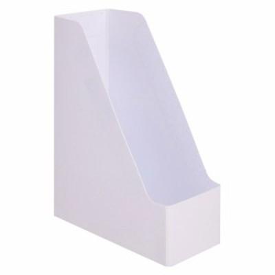 PP製ボックスファイル(組み立て式) A4タテ ホワイト 1個