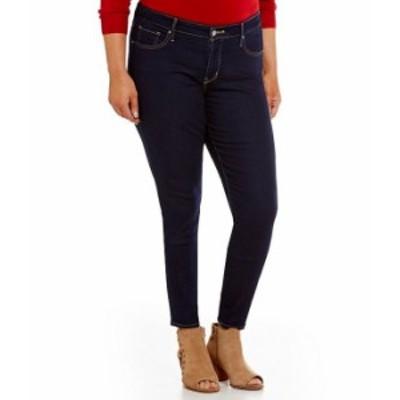 リーバイス レディース デニムパンツ ボトムス Levi'sR 311 Plus Shaping Skinny Jeans Darkest Sky