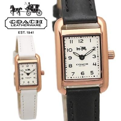 COACH コーチ THOMPSON トンプソン腕時計 レディース ウォッチ スクエア クオーツ 日常生活防水 14502298 14502451