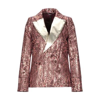 マニラ グレース MANILA GRACE テーラードジャケット ブラウン 42 ポリエステル 100% テーラードジャケット