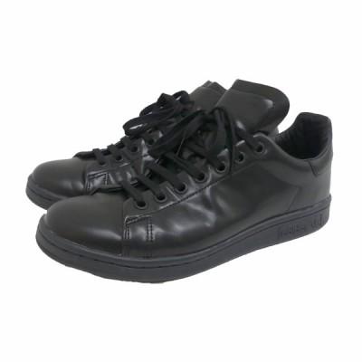 【11月23日値下】DSM × adidas Originals STAN SMITH スタンスミス スニーカー ブラック サイズ:24cm (茶屋町