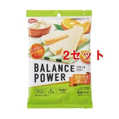 バランスパワー シトラスチーズ ( 2本*6袋入*2セット )/ ヘルシークラブ